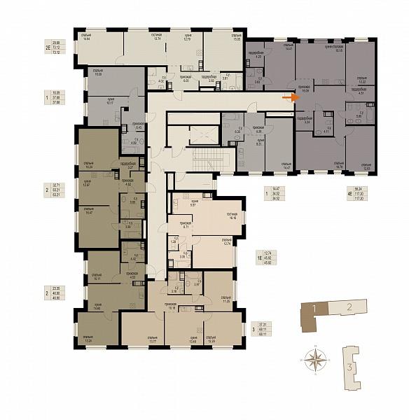4-к квартира, 117 кв.м., за 37504000 рублей