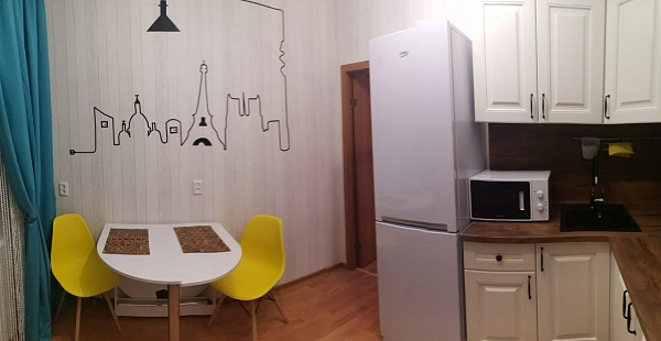 1-к квартира, 37 кв.м.