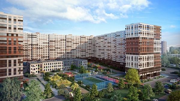 1 комнатная квартира  площадью: 32.83 кв.м