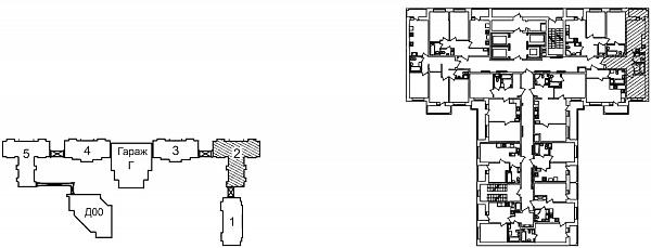 1 комнатная квартира  площадью: 41.93 кв.м
