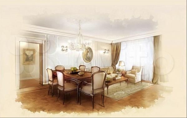 3-к квартира, 120 кв.м., 9тр А, Большеохтинский пр-кт, 9 стр А